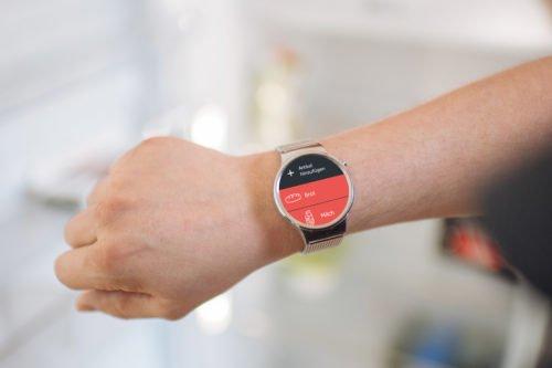 Bring! Einkaufslisten-App auf Smartwatch