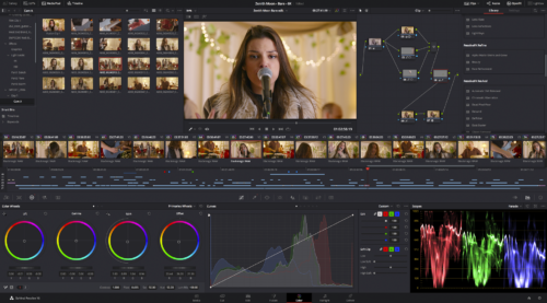 Farbanpassungen mit DaVinci Resolve