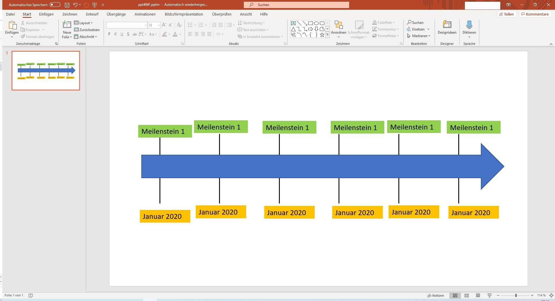 University Powerpoint Template Timeline Powerpoint 9
