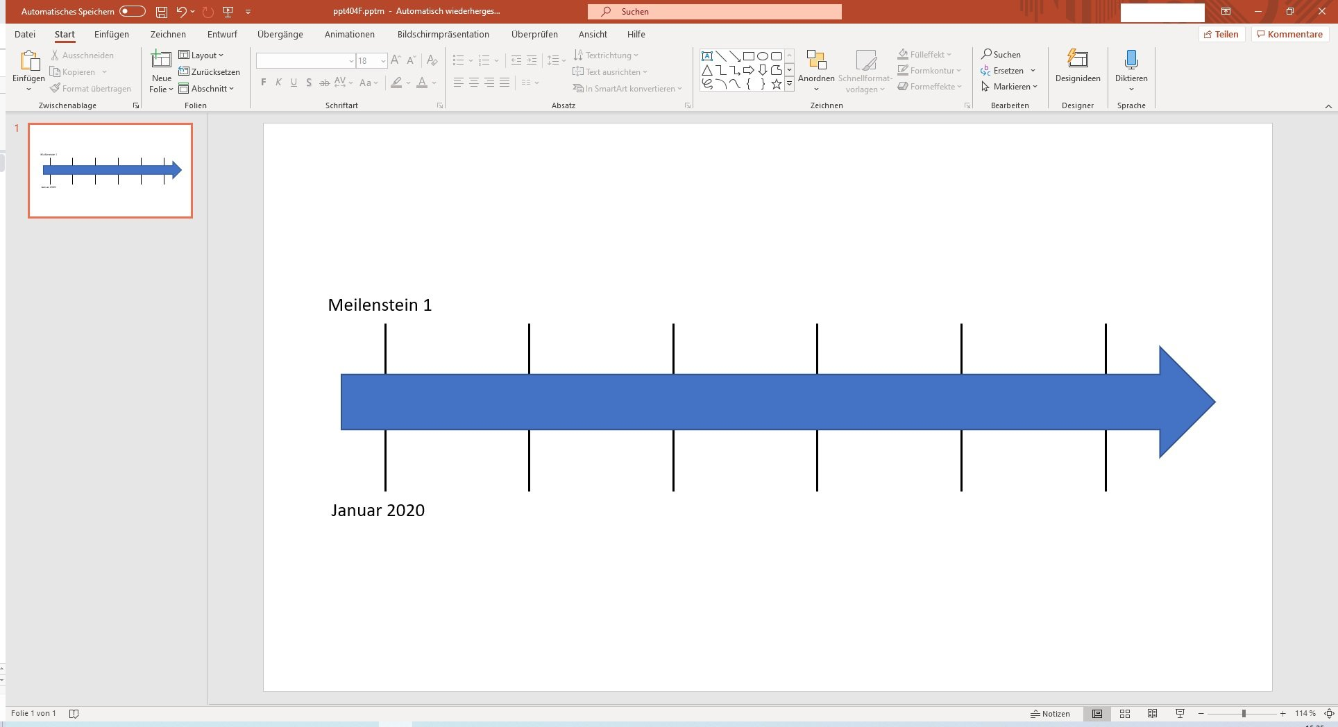 Animated Timeline Template For Powerpoint 2021 Slidelizard 9