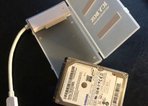 Icy-Box zum Anschluss von SATA-Laufwerken über USB