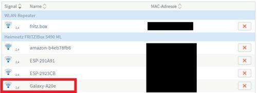 Handy verbindet sich nicht mit WLAN: Smartphone MAC-Adresse in Router eintragen