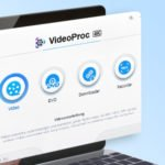 VideoProc 4K Menü