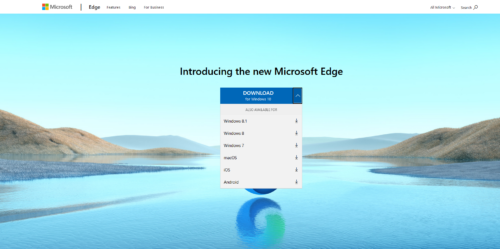 Download Microsoft Edge Chromium