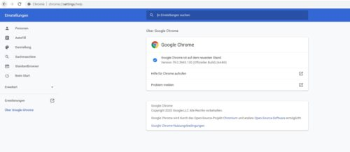 Chrome Browser Update auf Windows und Android
