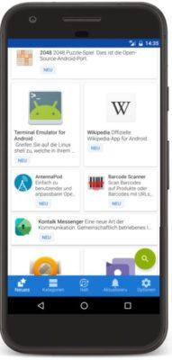 Google Play Store Alternative F-Droid 2019
