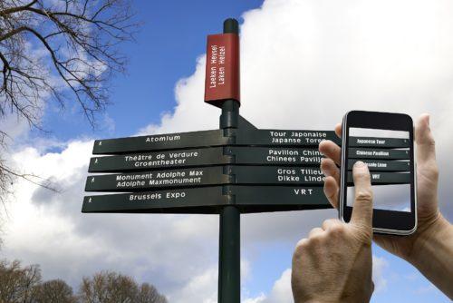 Google Übersetzer App auf einem Smartphone
