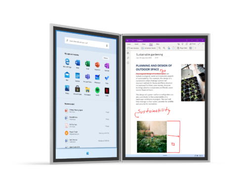 Surface Neo mit Windows 10X