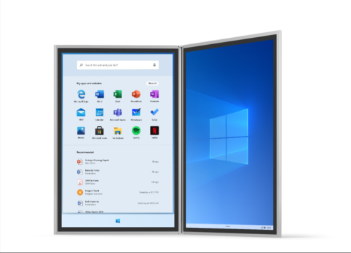 Neues Startmenü in Windows 10X