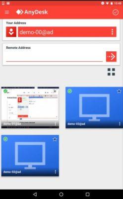 Anydesk App für Android