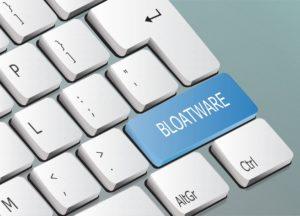 Bloatware-Taste auf Keyboard