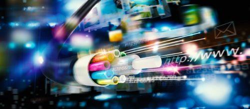 Internetzugang über Cloud und Glasfaser