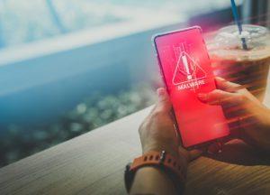 Malware Scanner auf einem Android Smartphone