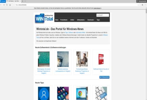 Kiosk im Browsermodus