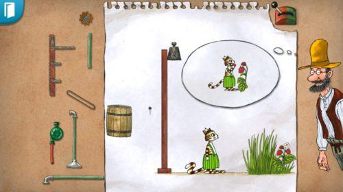 """Screenshot von """"Pettersons Erfindungen"""""""