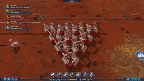 Surviving Mars Screenshot Wirtschaftssimulation für PC 2020