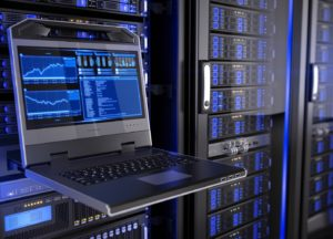 Dedizierter Server im Rack verfügbar