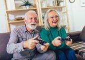 Online Unterhaltung und Spiele Zuhause in der Coronakrise
