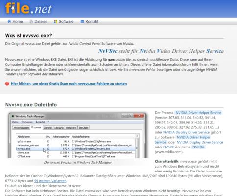 Suche nach unnötigen Diensten in Windows 10