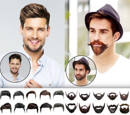 Screenshots der Man Hair Mustache Style Pro App