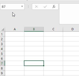 Genaue Bezeichnung einer Zelle in Excel