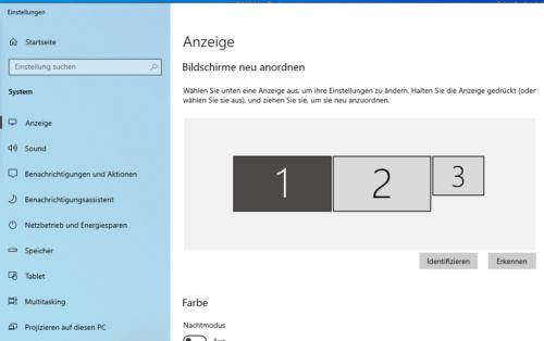 Laptop als weiteren Bildschirm
