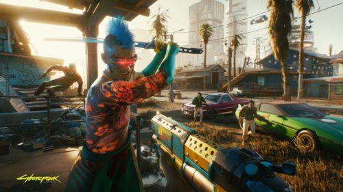 Screenshot des PC Rollenspiel Cyberpunk 2077