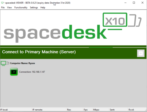 Spacedesk Client