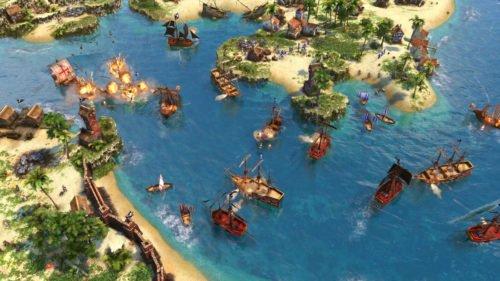 Beliebte Echtzeitstrategiespiele: Screenshot aus Age of Empires III: Definitive Edition