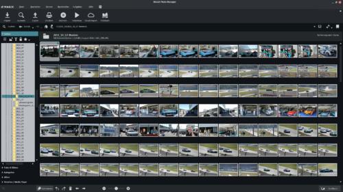 Magix Photo Manager Oberfläche