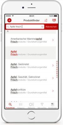 Screenshot der Gesundheits-App Broteinheiten Rechner Pro
