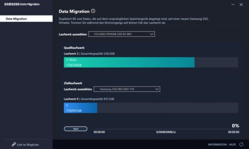 Samsung Data Migration Software