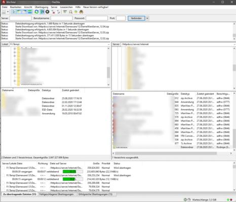 FileZilla ist ein sehr beliebtes FTP-Programm