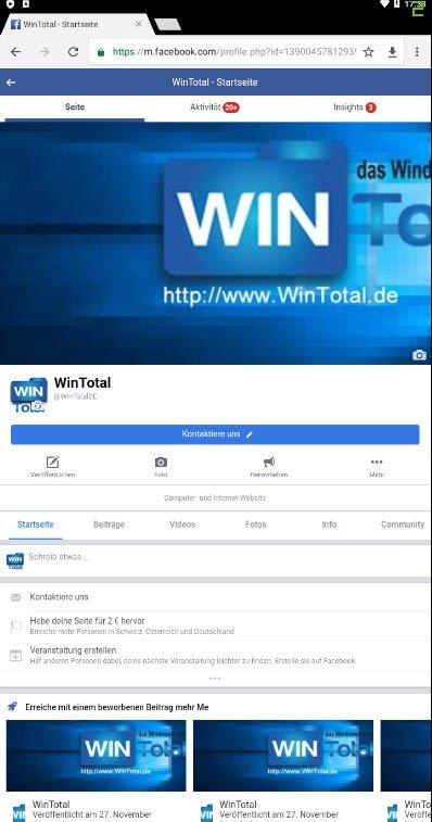 Ansicht desktop facebook login Facebook Desktop