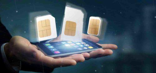 SIM Karten in verschiedenen Größen