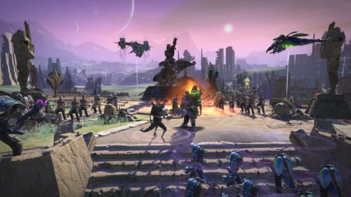 Screenshot aus Ageo of Wonders: Planetfall