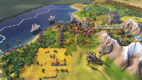 Screenshot aus dem rundenbasierten Strategiespiel Civilisation 6