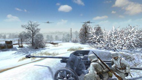 Screenshot aus dem rundenbasierten Strategiespiel Men of War: Condemned Heroes