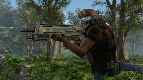 Screenshot aus dem rundenbasierten Strategiespiel XCOM2