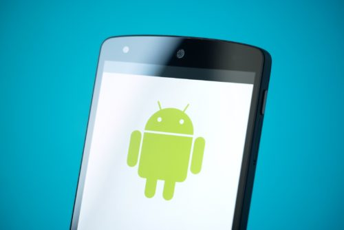 Android-Emoji auf einem Samsung-Smartphone