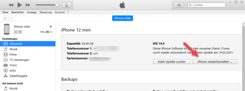 iPhone startet nicht - Wiederherstellen kann helfen