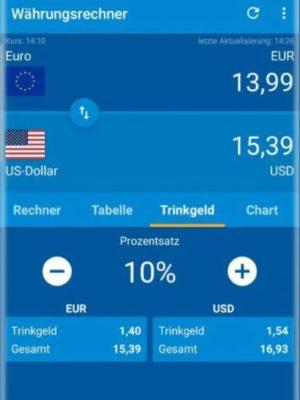 Währungsrechner von Finanzen100
