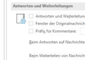 Fenster von Mails in Outlook automatisch schließen