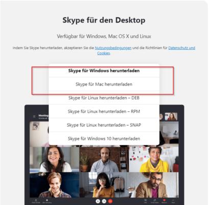 Skype für Windows erlaubt es, Skype ohne Microsoft-Konto zu nutzen