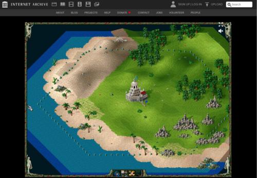 Retro Games wie Siedler auf dem PC im Browser