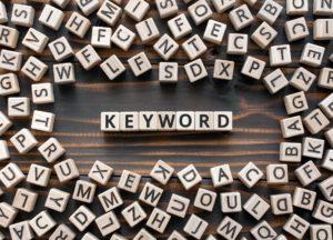 Keyword in WordPress