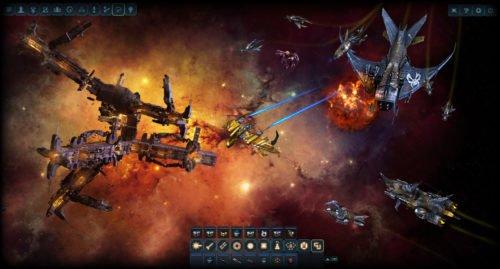 Screenshot des Dark Orbit Browsergame Multiplayer