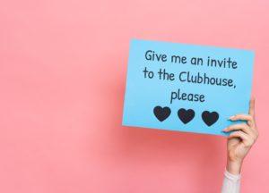 Invite für die Clubhouse-App