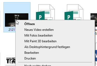 Ändern des Hintergrundbilds über den Windows-Explorer