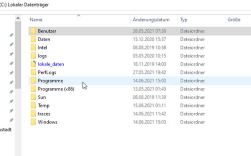 Versteckte Ordner und Dateien werden in Windows 10 nicht angezeigt